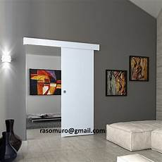 porte a mantovana external sliding door wall walnut white weng 232 completa