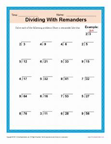 free math worksheets division with remainders 6858 dividing with remainders free printable math worksheets