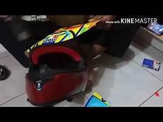 Modifikasi Helm Yamaha Vixion by Pasang Decal Helm Universal Yamaha Vixion Agv Soleluna