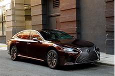 2018 lexus ls 500 f sport adds visual aggression handling