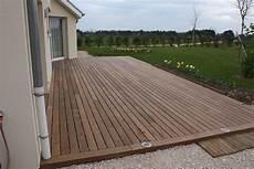 comment faire terrasse pas chere jardins secrets terrasses bois