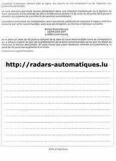 contestation infraction radar automatique