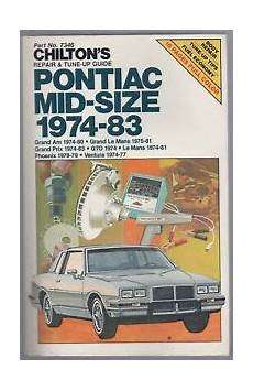 service repair manual free download 1974 pontiac gto transmission control chilton s auto repair manual for pontiac 1974 83 gto grand am grand prix le mans ebay