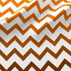 ombre orange chevron pattern small fabric fabric amyteets spoonflower