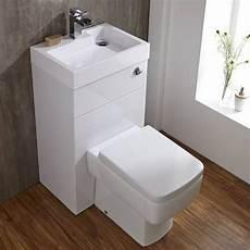 Ovale Toilette Mit Sp 252 Lkasten Und Integriertem Waschbecken