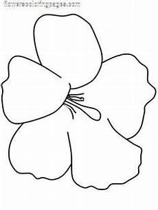 Ausmalbilder Hawaii Blumen Ausmalbilder Blumen Malvorlagen 01 1 Klasse Flores
