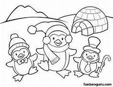 winter animals coloring pages for preschool 17197 free printable winter coloring pages for preschoolers free print out winter activities