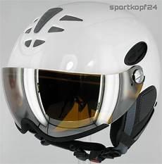 uvex hlmt 300 visor visier skihelm white