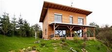 Fertighaus M1 Holzhaus Mit Pultdach Und 252 Berdachter