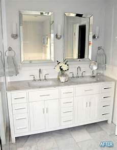 bathroom vanity mirror ideas before and after small bathroom makeovers big on style
