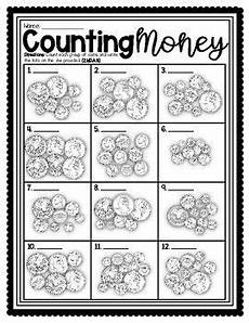 skip counting stories worksheets 11990 2 pages money counting coins and money story problems worksheets in 2020 with images