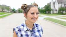 double braided buns cute girls hairstyles