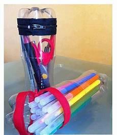 cartuchera con botellas reciclaje reciclar plastico reciclaje y botellas