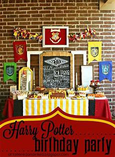 tattered and inked diy harry potter birthday