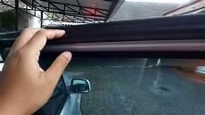 diy mengakali karet pintu mobil yang sudah kempes dengan selang karet youtube