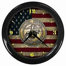 proud to be a usmc marine corps cool wall clock ebay