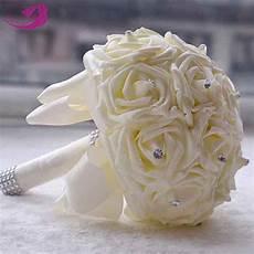 2016 hot artificial flowers cheap wedding flowers bridal bouquets festive party supplies