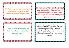 guided reading activity cards by lizdoig teaching resources tes