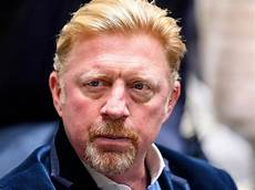 boris becker news boris becker condemned as a with his in the sand