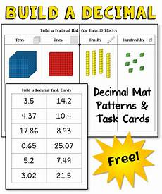 corkboard connections how to introduce decimals with base ten blocks