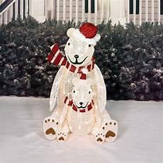 Decorations Outdoor Sale by Sale Lighted Pre Lit Polar Sculpture
