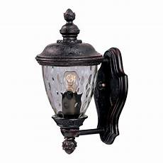 lighting carriage house dc 1 light bronze outdoor wall 3495wgob the home