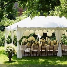 Hochzeitsfeier Im Garten - simple tent pavillon without floor or walls simple tent