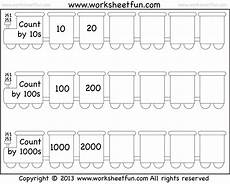 skip counting by 5 s to 1000 worksheets 12080 skip counting by 10 100 and 1000 worksheet free printable worksheets worksheetfun