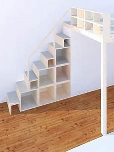 Kleine Treppe Bauen - regal und treppe f 252 r hochebene und hochbett neubauen