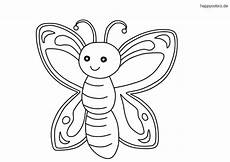 Malvorlage Schmetterling Einfach Ausmalbilder Schmetterling Gratis
