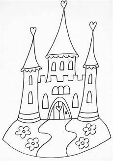 Ausmalbild Prinzessin Schloss Ausmalbilder Prinzessin
