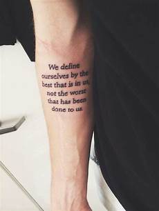 forearm quote tattoos designs ideas and meaning tattoos