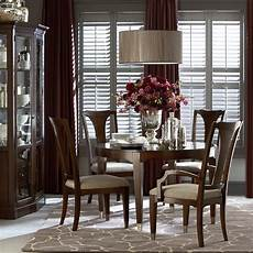 cosmopolitan round dining table by bassett furniture