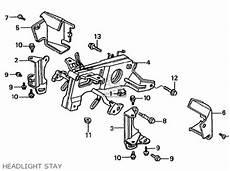 honda vfr400z nc21 102 1987 h japan parts list partsmanual partsfiche