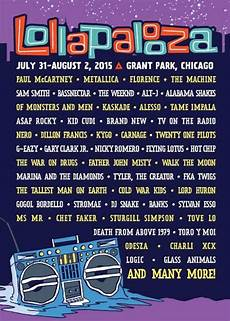 Lollapalooza 2015 Lineup Stereogum