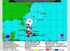 hurricane tracker national hurricane center
