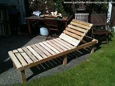 Pallet Sun Lounger Ideas Pallet Furniture Projects