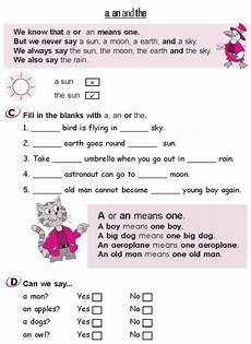 grammar worksheets grade 2 24793 grade 2 grammar lesson 3 articles a an and the 3 with images teaching grammar
