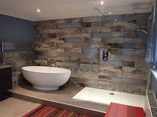Reclaimed Wood S Bathroom Transformation Walls