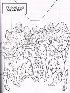 marvel heroes mega colouring book in comics