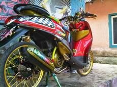 Mio Soul Modif Trail by Thai Look Style Foto Foto Motor Thai Look Syle