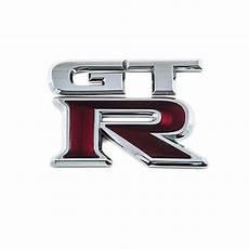 nissan gt r r35 emblem trunk lid logo 84894jf00a
