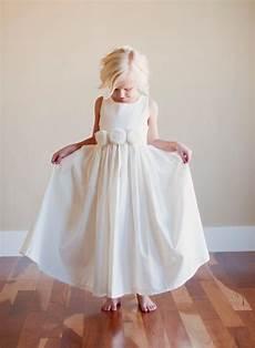 flower girl dress rustic flower girl bridesmaid dress