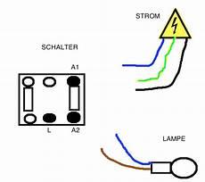 N Und L Strom - stromschalter mit strom le verkabeln welches kabel