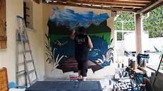 Graff Deco Fresque Murale Trompe L Oeil