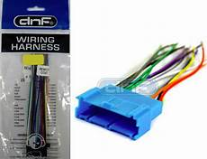 Gm Car Stereo Cd Player Wiring Harness Aftermarket Radio