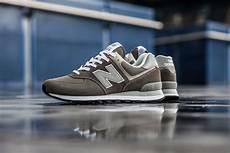 new balance 574 classic grey sneakers magazine