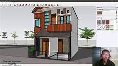 Desain Rumah Cantik Ukuran 6x10 2 Lantai 3 Kamar Tidur