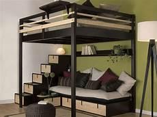 lit mezzanine pour studio studio nos 30 id 233 es de rangements bien pens 233 s