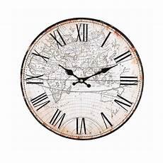 Uhr Welt D 30cm Natur Depot De